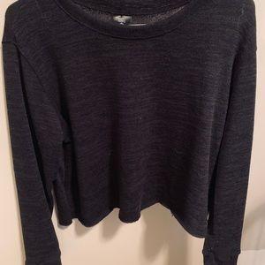 NWOT Black Pullover Sweater Medium Agnes & Dora
